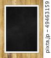 背景-壁-板-木目-茶-フレーム-黒板 49463159