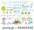 梅雨 カエル 素材集7 49464946