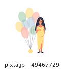 妊娠 懐妊 授かるのイラスト 49467729