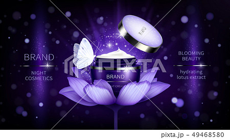 Vector cosmetic banner or promotion poster 49468580