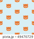 pattern with cute cat.. 49470729