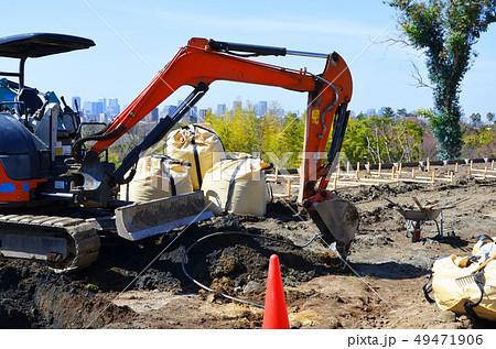 造園工事の風景 49471906