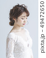 花嫁 新婦 ブライダルの写真 49472650