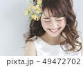 花嫁 新婦 ブライダルの写真 49472702