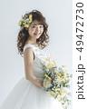 花嫁 新婦 ブライダルの写真 49472730