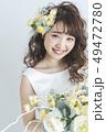 花嫁 新婦 ブライダルの写真 49472780