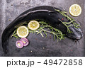 Cooking catfish with spices and rosemary 49472858