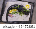 Cooking catfish with spices and rosemary 49472861