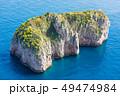 Monacone Rock near Capri Island, Italy. 49474984