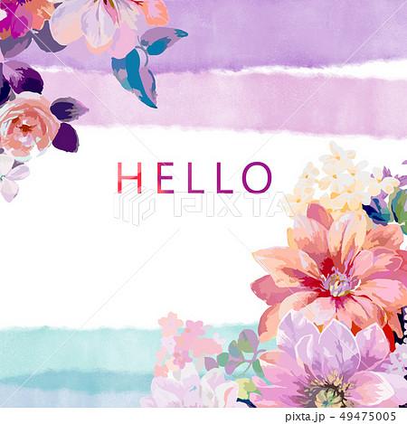 花 フラワー お花 49475005