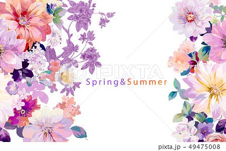 花 フラワー お花 49475008