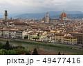 ミケランジェロ広場からのフィレンツェの眺め(イタリア・フィレンツェ) 49477416