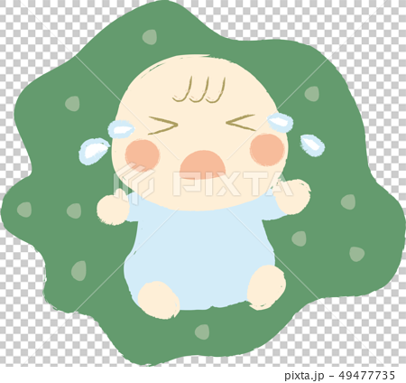 泣く赤ちゃん 49477735