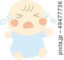 泣く赤ちゃん 49477736