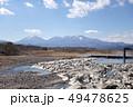 佐貫観音橋からの鬼怒川と日光連山 49478625