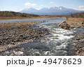 佐貫観音橋上流からの鬼怒川と日光連山 49478629