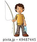 少年 人々 人物のイラスト 49487445