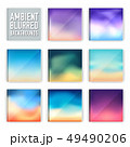 set of vector blurred backgrounds concepts. 49490206