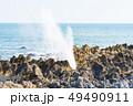 気仙沼 岩井崎 潮吹き岩 三陸復興国立公園 観光地 49490911