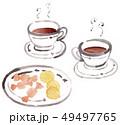 コーヒーとお菓子 49497765
