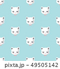 pattern with cute cat.. 49505142