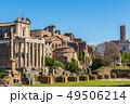 Roman Forum in sunny day, Rome, Italy 49506214