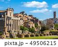 Roman Forum in sunny day, Rome, Italy 49506215