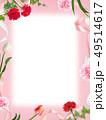 背景-カーネーション-母の日-ピンク-フレーム 49514617