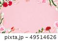 背景-カーネーション-母の日-ピンク-フレーム 49514626