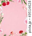 背景-カーネーション-母の日-ピンク-フレーム 49514628