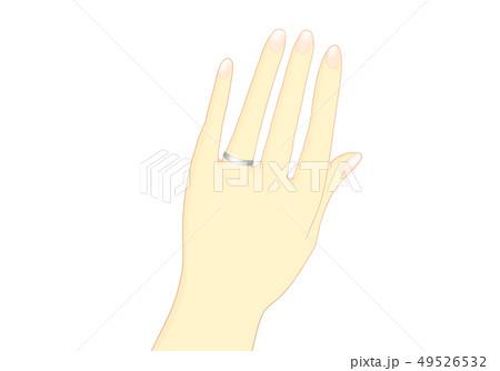 結婚指輪 銀 49526532