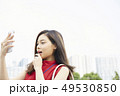 女性 驚く ビジネスの写真 49530850