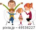 家族 団欒 団らんのイラスト 49536227