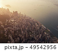 Aerial view of Hong Kong Downtown, Republic of 49542956
