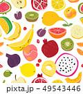 フルーツ 果物 プリントのイラスト 49543446