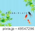 金魚 魚 出目金のイラスト 49547296