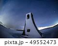 冬の美しの塔北天星空 49552473
