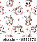 ウサギ うさぎ 兎のイラスト 49552578