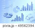 ビジネスイメージ グラフ 49562394