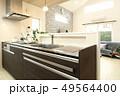 デザイナーズハウス インテリア システムキッチンの写真 49564400