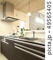 デザイナーズハウス インテリア システムキッチンの写真 49565405