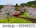 千葉県、春の小湊鉄道飯給駅 49566375