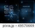 5G wifi wireless technology template background 49570669