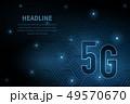 5G wifi wireless technology template background 49570670