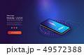バッテリー 電池 フォンのイラスト 49572388
