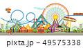 Amusement park circus 49575338