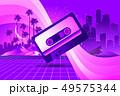 Retro style pop disco 49575344