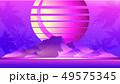 Retro Wave Sunset 49575345