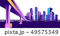 Vector banner night city 49575349