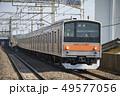 武蔵野線 電車 列車の写真 49577056